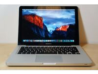 APPLE MACBOOK PRO A1278 (2014) - excellent condition - core i5 2.5GHz/4GB/500GB - macOS Sierra