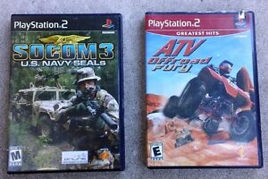 2 X Playstation 2 Games