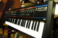 Clavier/synth-workstation Roland Juno-G écran neuf AS NEW