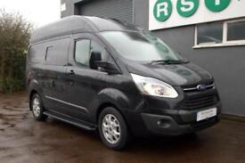 Ford Transit Custom Camper 2 berth, 4 sbelts, stylish high top with media system