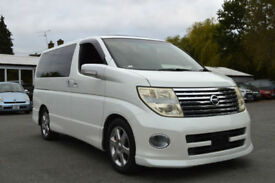 FRESH IMPORT LATE 2004 FACE LIFT NISSAN ELGRAND HIGHWAY STAR V6 AUTOMATIC PEARL