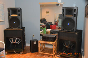 Professional PA Speakers