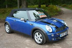 2006 MINI CONVERTIBLE 1.6 One 2dr 53,000 MILES MOTORHOME TOW PACK INCLUDED
