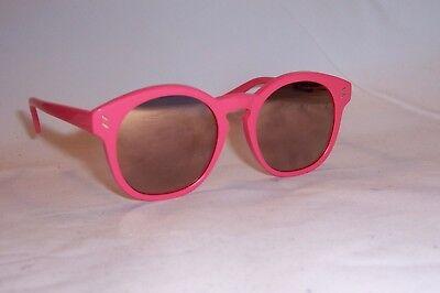 07ccb9d6ca NEW Stella McCartney SUNGLASSES SC0013SA 004 PINK PINK MIRROR AUTHENTIC 0013