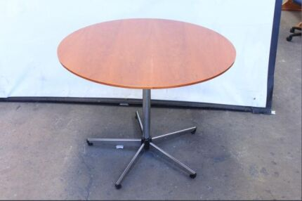 Round Timber Veneer Tables