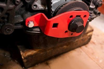 Crankshaft locking tool, Mazda MX-5 mk1, mk2, MX5 crank shaft timing pulley lock