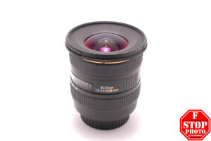 Sigma EX 10-20mm f4-5.6 DC HSM no hood for Canon