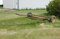 Swather carrier