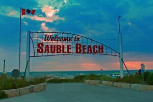 SAUBLE BEACH - 2/3 Bdrm Cottage - Wks Available in Jul and Aug