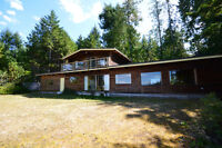 Beautiful level walk-on waterfront property on Gabriola Island