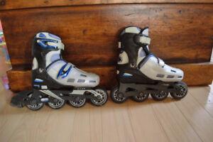 Roller blade, patins à roues alignés