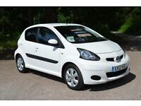 TOYOTA AYGO 1.0 VVT i Go 5dr LOW MILEAGE 24,000 MILES FTSH £20 TAX