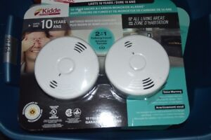 New Kidde Talking Smoke + Co Alarms 10 Year