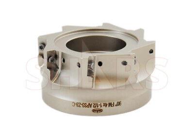 4 90 Coolant Thru Indexable Face Mill Cutter Apkt Apmt 1604 618.95 Off 4
