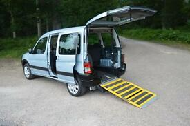 2008 PEUGEOT PARTNER COMBI DIESEL ONLY 24,000 MILES WHEELCHAIR RAMP