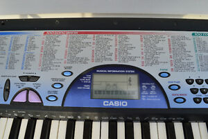Casio tone keyboard