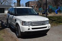 2008 Land Rover RANGE ROVER SPORT SUPERCHARGED MAG 22'' GPS NEGO