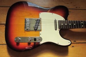 Fender Telecaster 2001, $1280.