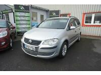 2007 VOLKSWAGEN TOURAN S TDI NEW MOT AND SERVICE DIESEL