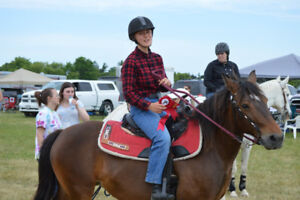 Horse show at Burford Fair Grounds on July 21st!
