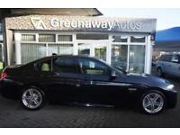 2014 BMW 5 SERIES 520D M SPORT STUNNING EXAMPLE SALOON DIESEL