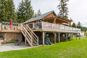 8731 Trans Canada Highway, N Salmon Arm - Very Unique Property