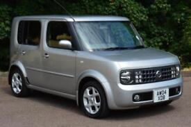 2004 NISSAN CUBE 1.4 AUTOMATIC VERY LOW MILEAGE
