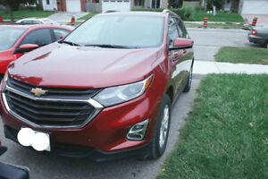 2018 Chevrolet EQUINOX Red Lease Transfer