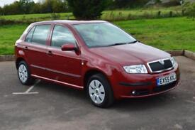 2005 SKODA FABIA 1.2 12V Ambiente 5dr 64hp One Owner ONLY 17,000 MILES