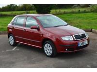 SKODA FABIA 1.2 12V 5dr ONE OWNER LOW MILEAGE ONLY 18,000 MILES FSSH
