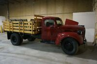 REDUCED - 1946 DODGE STAKE TRUCK FLATBED