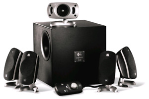 Logitech z-5300 560 watt 5.1 speakers