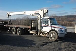2007 Freightliner M2 Tractor with 14 Ton Pitman Boom