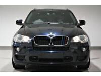 2008 BMW X5 3.0sd auto M Sport- black - PX SWAP- FINANCE FROM £62p/w -