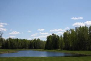 Backing onto pond  on the shores of Buck Lake!