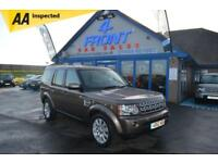 2012 LAND ROVER DISCOVERY 4 SDV6 HSE 3.0 DIESEL AUTO 7 SEATER 5 DOOR 4X4 4X4 DIE