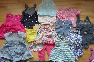 lots vêtements d'été fille 3 mois