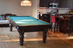 41/2  x  9ft  snooker Table for sale Peterborough Peterborough Area image 1