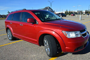 2009 Dodge Journey R/T, AWD, leather 7 psngr, TV