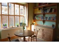 Double room available in lovely spacious victorian house in Moseley - sharing with just 2 others