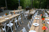 Rustic Wedding or Event Tables