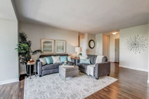 Just Listed - Totally Renovated 1 Bed + Den Lakefront Condo