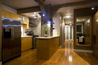 One of a Kind Heritage Studio Loft In Yaletown - Fully Furnished