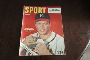 February 1954 issue of SPORT magazine.