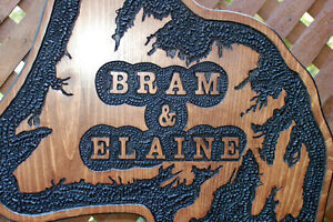 SIGNS WOOD ROUTED HAND CARVED CUSTOM St. John's Newfoundland image 3
