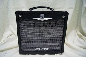 CRATE V5 RMS ALL TUBE GUITAR COMBO MINT