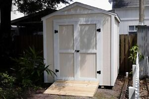 8x8 SHED PACKAGE