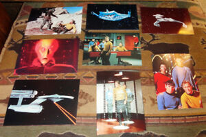 STAR TREK ORIGINAL SERIES PUBLICITY PHOTO 8X POSTCARD SIZED PICS