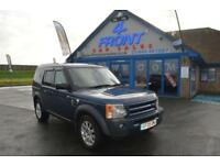 2005 LAND ROVER DISCOVERY 3 TDV6 SE 2.7 DIESEL AUTO LEATHER SAT NAV 7 SEATER 5 D