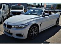 2015 BMW 4 SERIES 435D XDRIVE M SPORT CONVERTIBLE FULLY LOADED RED LEATHER CONV